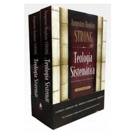 Box Teologia Sistemática de Strong 2 Volumes