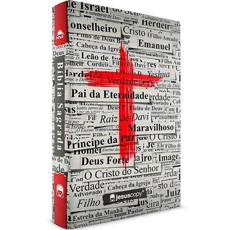 Bíblia Sagrada JesusCopy NVI Cruz Vermelha