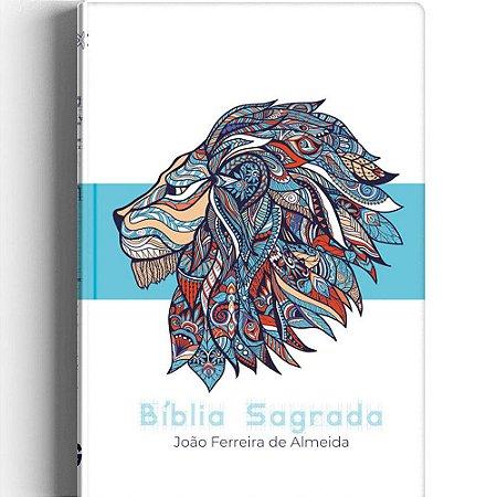 Bíblia Sagrada Revista Corrigida Capa Dura Especial Leão