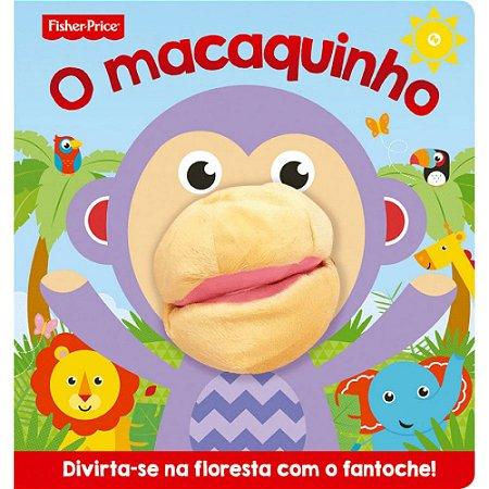 Livro Infantil Fisher Price O macaquinho com fantoche