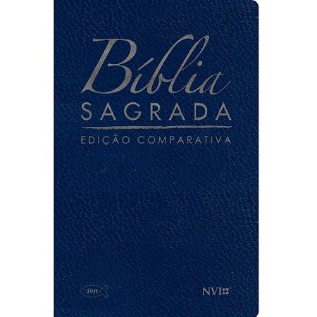 Bíblia Sagrada Edição Comparativa Extra-Gigante Capa Luxo