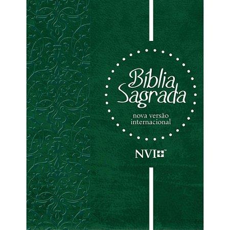 Bíblia Sagrada NVI gigante capa especial verde