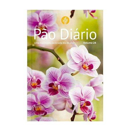 Pão Diário Volume 24 - Capa Flores