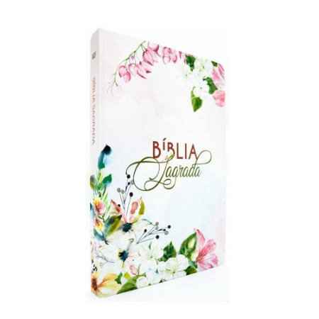 Bíblia Sagrada Acf  Média Capa Dura Slim Jardim Salmos