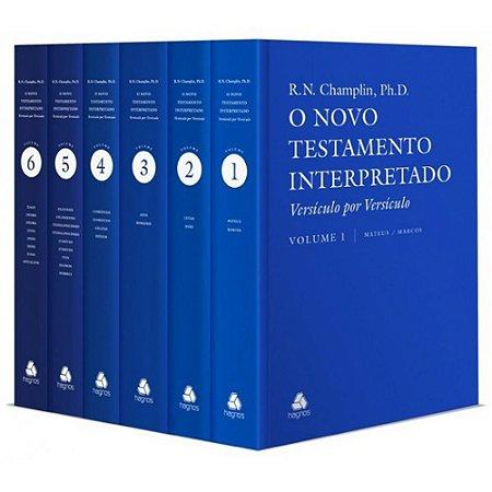 Novo Testamento Interpretado Versículo Por Versículo Russell Norman Champlin