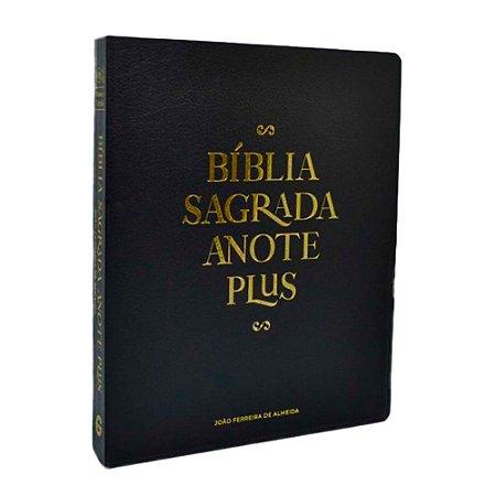 Bíblia Anote Plus RC Capa Dura Black Edition