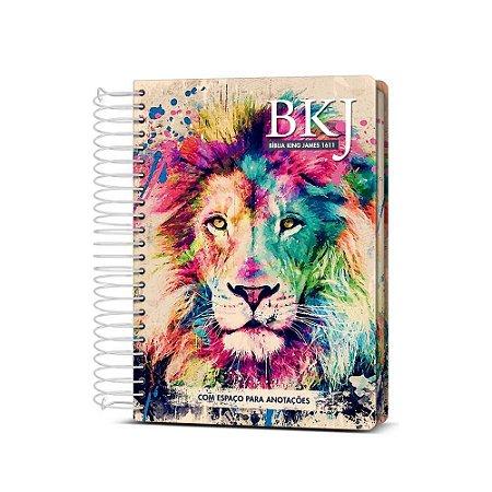 Bíblia King James 1611 Anote - Lion Colors