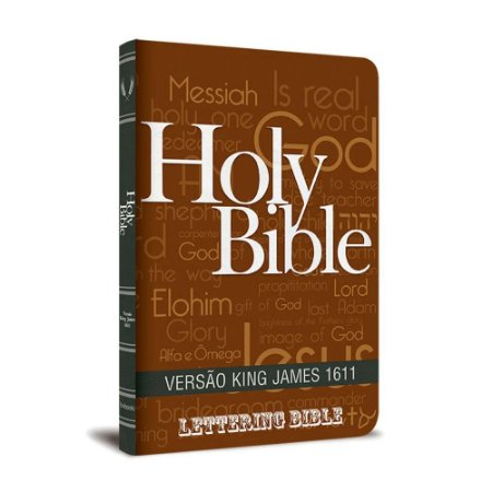 BÍBLIA KING JAMES 1611 ULTRAFINA LETTERING BIBLE HOLY