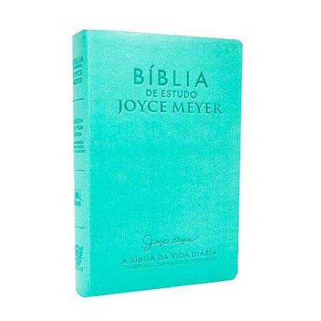 Bíblia De Estudo Joyce Meyer - Azul