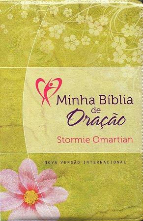 Minha Bíblia De Oração - Nvi - Flores