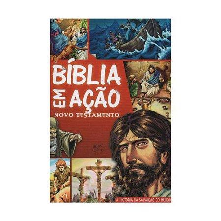 Bíblia Em Ação Novo Testamento Médio