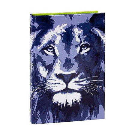 Bíblia Sagrada RC Média Capa Dura Leão Azul