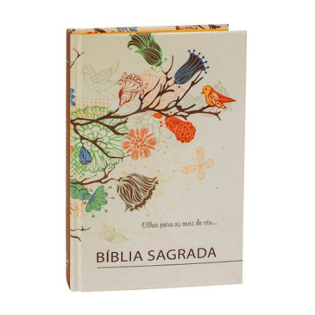 Bíblia Sagrada RC Média Capa Dura Pássaro