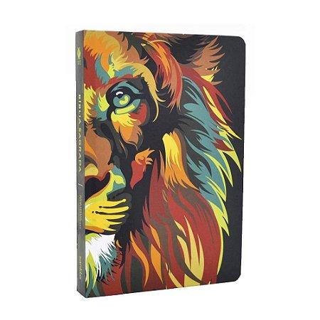Bíblia Sagrada NVT Média Capa Soft Touch Lion Colors Nature