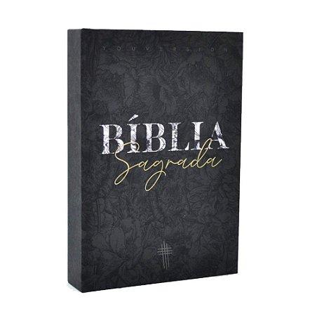 Bíblia Sagrada NTLH YouVersion Média Capa Soft Touch Flower Mix