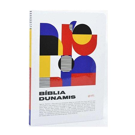 Bíblia Dunamis Geométrica Capa Dura