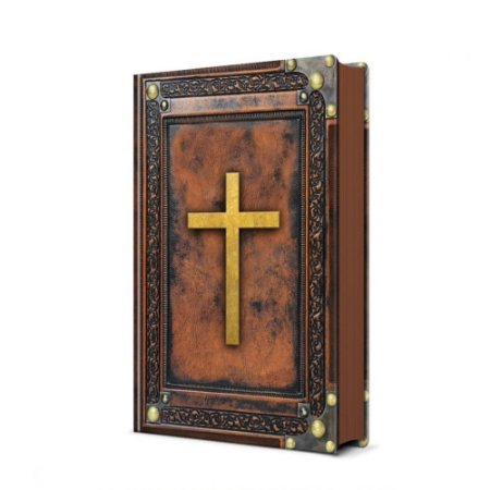 Bíblia Sagrada NVI Média Capa Dura Soft Touch Vintage Marrom