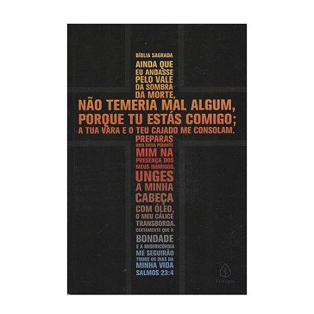 Bíblia Sagrada ACF Média Capa Dura Salmos 23 Editora Principis