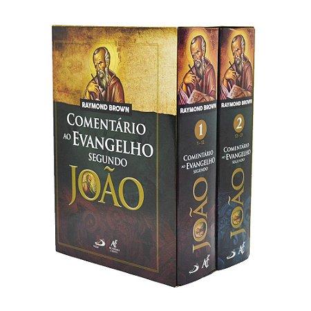 Box Comentário Ao Evangelho Segundo João - Raymond Brown - 2 Volumes