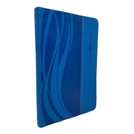 Bíblia Sagrada Presente De Batismo - Azul