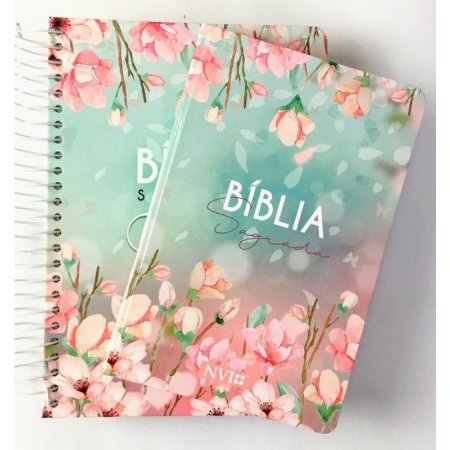 Kit Bíblia Anote Espiral + Bíblia NVI Magnolia