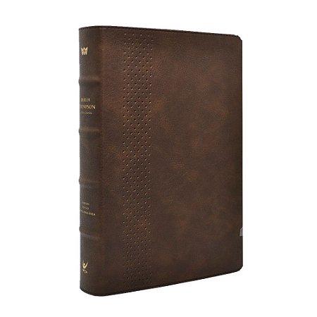 Bíblia De Estudo Thompson Letra Grande Edição De Colecionador - Marrom