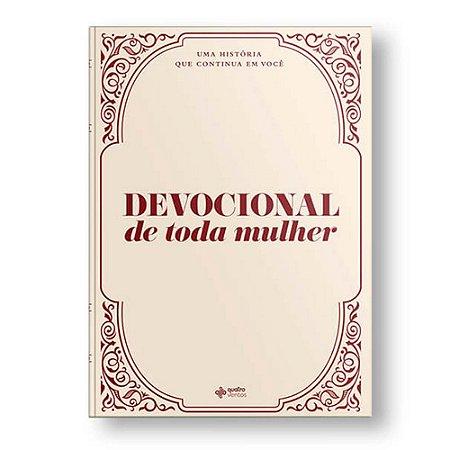 Livro Devocional De Toda Mulher