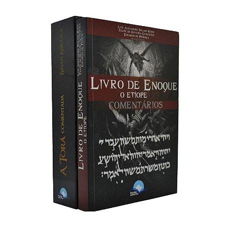 Combo 2 Livros A Torá Comentada + Livro De Enoque O Etíope Comentários