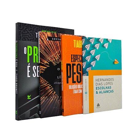 Combo 4 Livros Desenvolvimento Pessoal