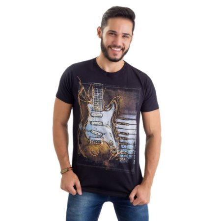 Camiseta - Guitarra
