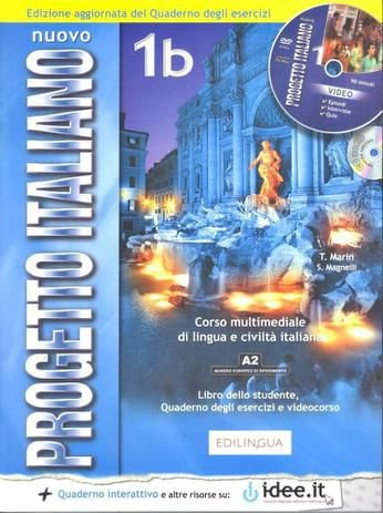 Nuovo Progetto Italiano 1B - Libro Dello Studente E Quaderno Degli Esercizi Con CD ROM E CD Audio