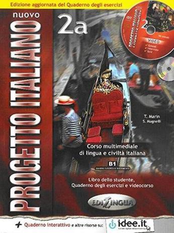 Nuovo Progetto Italiano 2A - Libro Dello Studente E Quaderno Degli Esercizi Con CD ROM E CD Audio