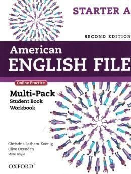 American English File Starter A - Multipack (Student Book With Workbook And Online Practice) - Second Edition