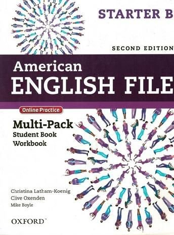 American English File Starter B - Multipack (Student Book With Workbook And Online Practice) - Second Edition