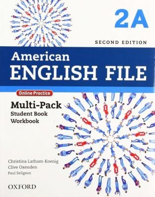 American English File 2A - Multipack (Student Book With Workbook And Online Practice) - Second Edition