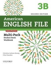 American English File 3B - Multipack (Student Book With Workbook And Online Practice) - Second Edition