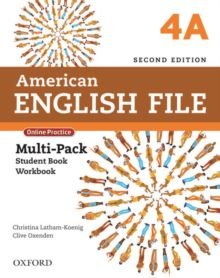 American English File 4A - Multipack (Student Book With Workbook And Online Practice) - Second Edition
