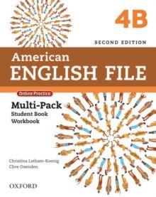 American English File 4B - Multipack (Student Book With Workbook And Online Practice) - Second Edition