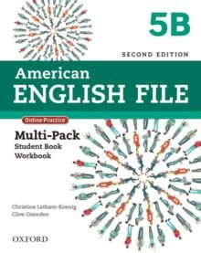 American English File 5B - Multipack (Student Book With Workbook And Online Practice) - Second Edition