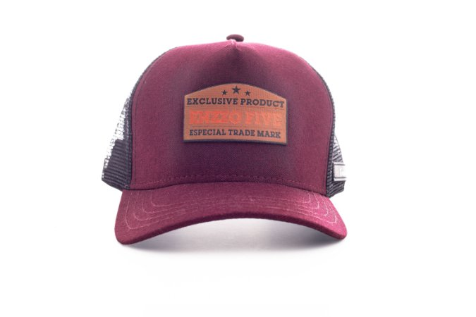 Boné Trucker enzzo exclusive bordo