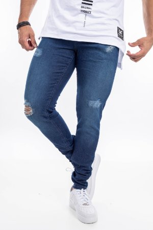 Calça jeans austin skinny