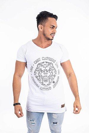 Camiseta long caul7 leão