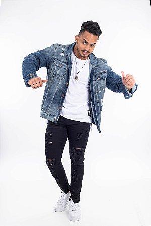 Jaqueta Jeans pocket austin five