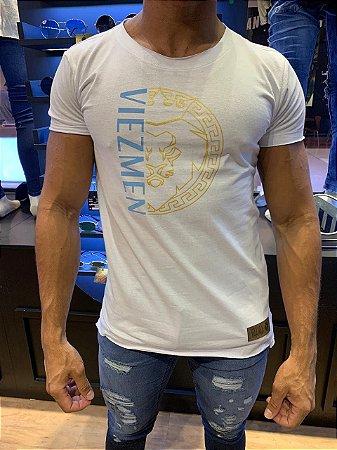 Camiseta Long line Viez  Men Lion