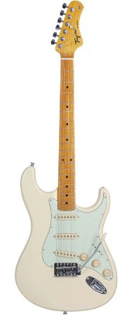 Guitarra Tagima Woodstock Tg 530 Vintage White