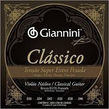 Encordoamento Giannini Classico Super Extra Pesada Nylon
