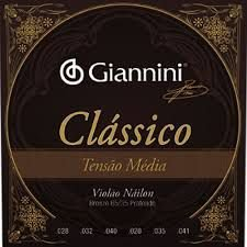 Encordoamento Giannini Classico Media Nylon