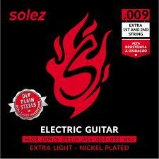 Encordoamento Solez Guitarra 0.9