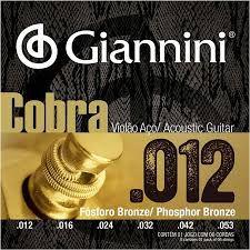 Encordoamento Giannini Violão 0.12