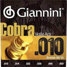 Encordoamento Giannini Violão 0.10